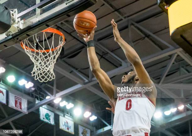 Alabama Crimson Tide forward Donta Hall shoots a layup during the basketball game between the UCF Knights and the and Alabama Crimson Tide on...