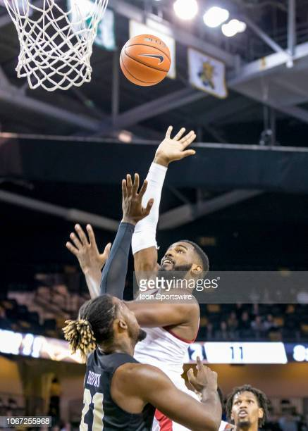 Alabama Crimson Tide guard Herbert Jones shoots a basket during the basketball game between the UCF Knights and the and Alabama Crimson Tide on...