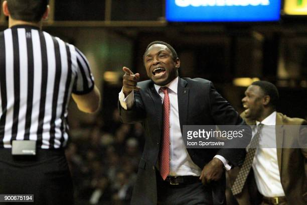 Alabama Crimson Tide head coach Avery Johnson argues a call during a Southeastern Conference game between the Vanderbilt Commodores and Alabama...