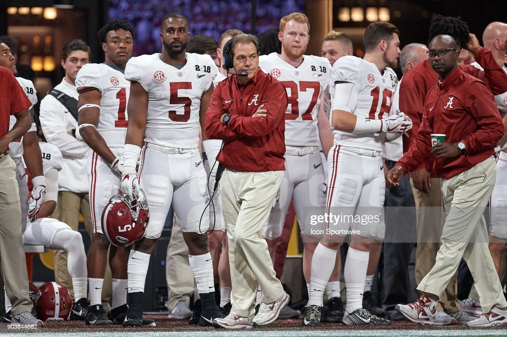 COLLEGE FOOTBALL: JAN 08 CFP National Championship : News Photo