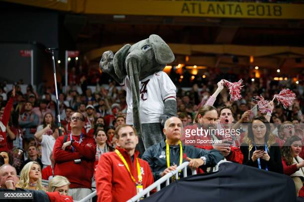 Alabama Crimson Tide mascot Big Al during the College Football Playoff National Championship Game between the Alabama Crimson Tide and the Georgia...