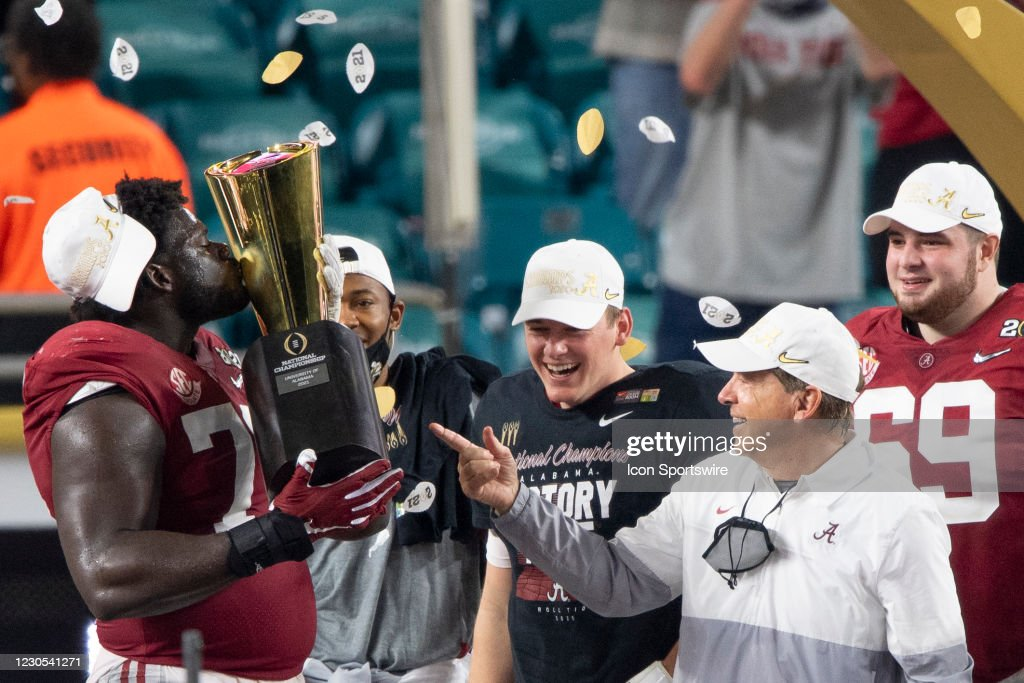 COLLEGE FOOTBALL: JAN 11 CFP National Championship - Alabama v Ohio State : News Photo