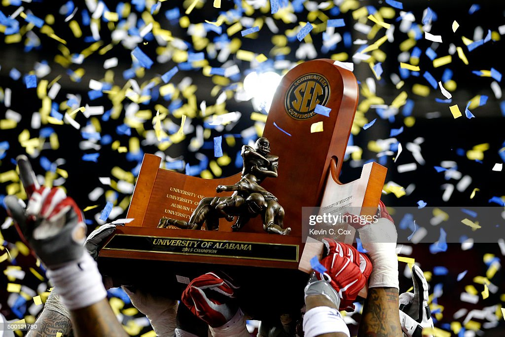 SEC Championship - Alabama v Florida : News Photo