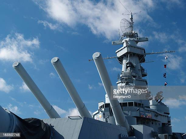 uss alabama detail - military ship stock pictures, royalty-free photos & images