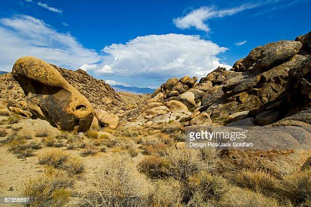 alabama hills, sierra mountains, california, usa - foothills stock pictures, royalty-free photos & images