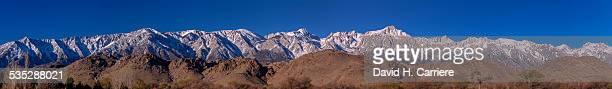alabama hills & sierra mtns., california - alabama hills stock photos and pictures