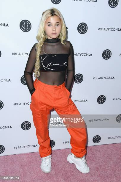 Alabama Luella Barker attends the Beautycon Festival LA 2018 at the Los Angeles Convention Center on July 14 2018 in Los Angeles California