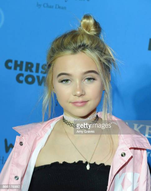 Alabama Luella Barker attends the PAPER Magazine Runway Benefit For MakeAWish Foundation at The Taglyan Complex on October 24 2017 in Los Angeles...