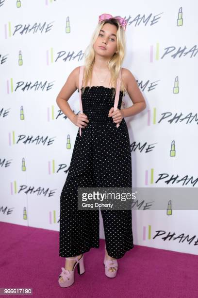 Alabama Luella Barker attends the PHAME Expo 2018 on June 2 2018 in Los Angeles California