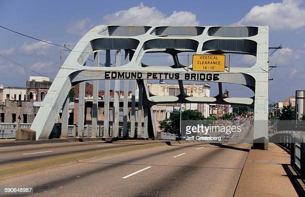 Alabama, Selma, Edmund Pettus Bridge, Site Of Bloody Sunday March Which Led To 1965 Voting Rights Act.