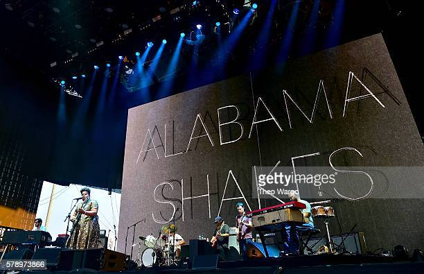 Alabama Shakes performs onstage at the 2016 Panorama NYC Festival Day 1 at Randall's Island on July 22 2016 in New York City