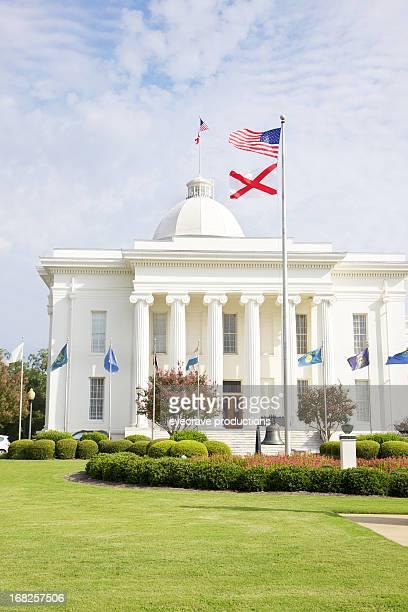 alabama state house capitol-montgomery - condado de montgomery alabama - fotografias e filmes do acervo