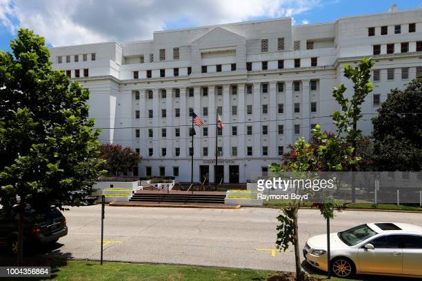 Alabama State House in Montgomery Alabama on July 6 2018