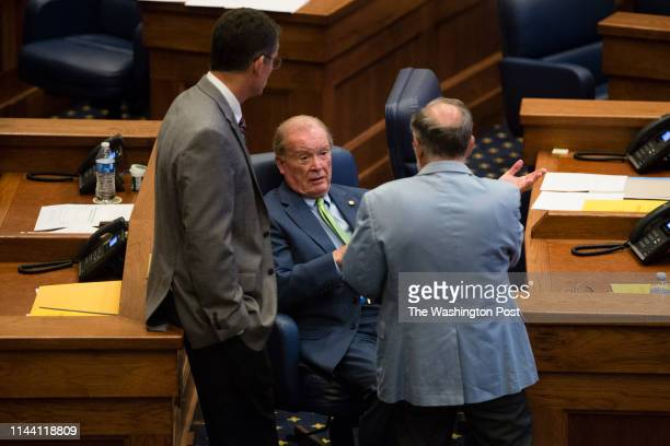 MONTGOMERY AL MAY 14 Alabama State Senators are seen on the senate floor prior to a final vote on HB314 which will ban abortions in all cases except...