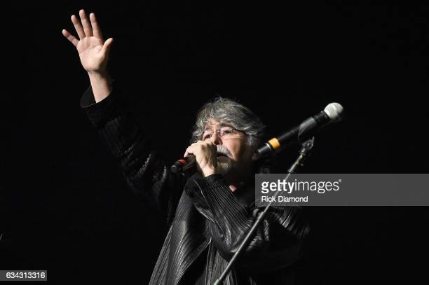 Alabama's Randy Owen performs during 1 Night 1 Place 1 Time A Heroes Friends Tribute to Randy Travis at Bridgestone Arena on February 8 2017 in...