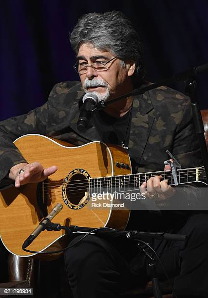 Alabama's Randy Owen performs during The Country Music Hall of Fame and Museum Presents an Interview with Alabama at The Country Music Hall of Fame...