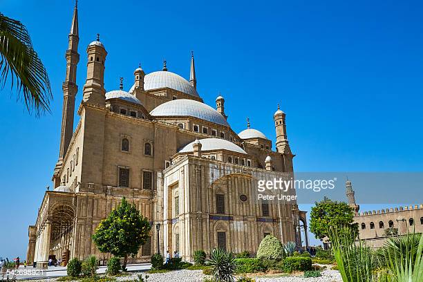 alabaster mosque in cairo city - alabaster mosque stock pictures, royalty-free photos & images