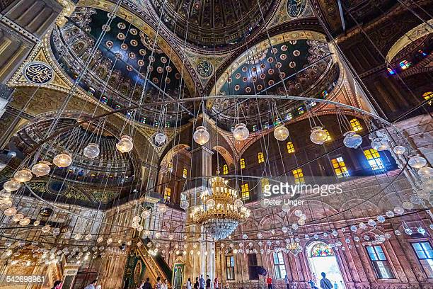 Alabaster Mosque in Cairo City