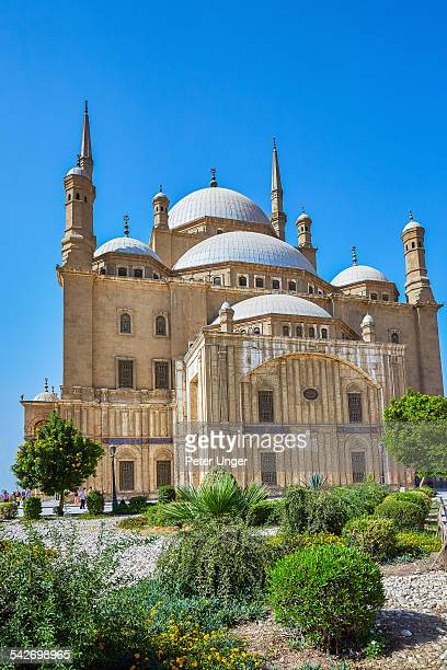Alabaster Mosque in Cairo City