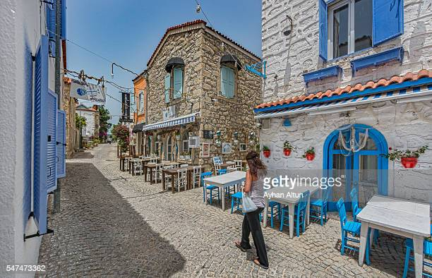 Alacati village,Cesme,Izmir,Aegean coast of Turkey