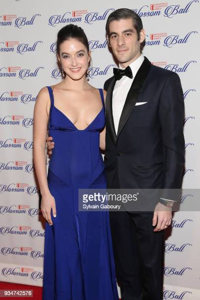 Alaia Baldwin and Andrew Aronow attend The Endometriosis Foundation of America Celebrates their 9th Annual Blossom Ball Honoring SingerSongwriter...