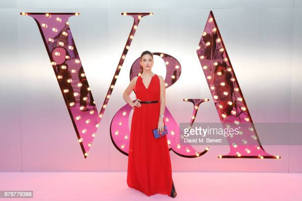 Alaia Baldwin attends the Summer Party at the VA in partnership with Harrods at the Victoria and Albert Museum on June 20 2018 in London England