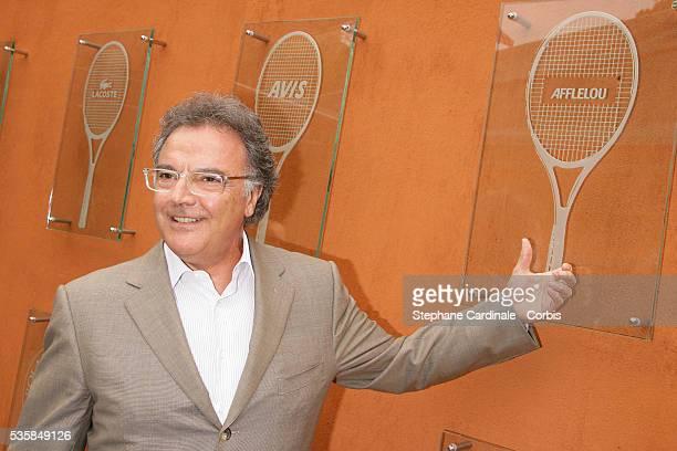 Alain Afflelou at Roland Garros Village