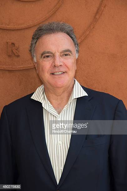 Alain Afflelou attends the Roland Garros French Tennis Open 2014 Day 15 at Roland Garros on June 8 2014 in Paris France