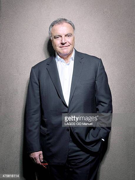 Alain Afflelou poses on May 22 2015 in Paris France