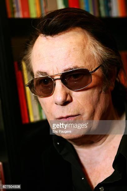 Alain Barriere at the Salon du Livre 2006 in Paris