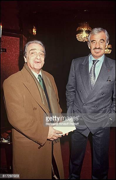 Alain Belmondo brother of Jean Paul Belmondo and Jean Paul Belmondo Trilogie De Pagnol
