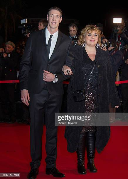 Alain Bernard and Michele Bernier attends the NRJ Music Awards 2013 at Palais des Festivals on January 26 2013 in Cannes France