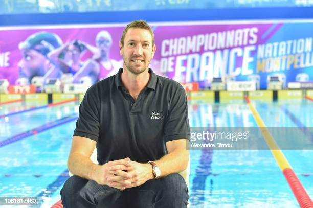 Alain Bernard during the French Short Course Swimming Championship on November 15 2018 in Montpellier France