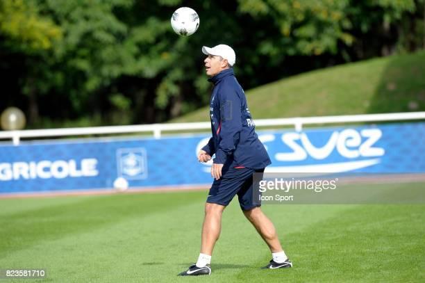 Alain BOGHOSSIAN Entrainement Equipe de France Football Clairefontaine