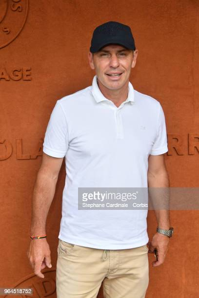 Alain Boghossian attends the 2018 French Open Day Five at Roland Garros on May 31 2018 in Paris France