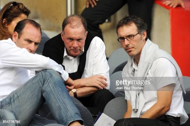 Alain BOGHOSSIAN / Jean FERNANDEZ / Laurent BLANC Bordeaux / Porto Tournoi de Paris 2010 Parc des princes
