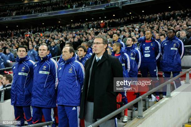 Alain BOGHOSSIAN / Jean Louis GASSET / Laurent BLANC France / Angleterre Match amical Londres