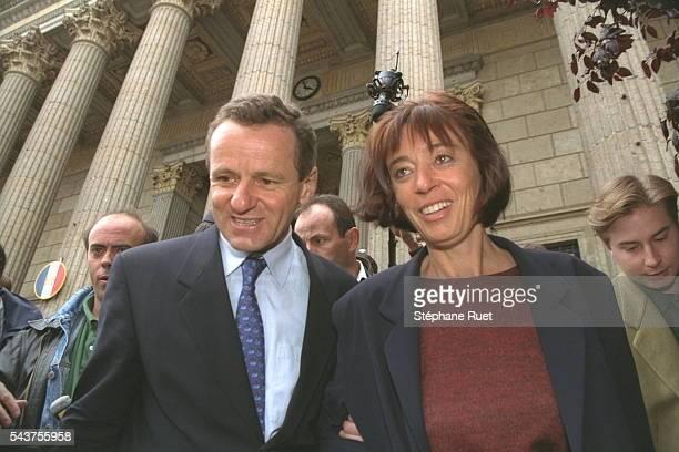 Alain Carignon et son épouse.
