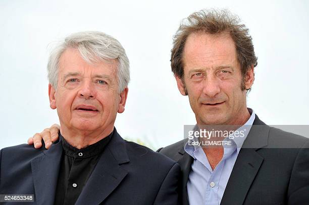 Alain Cavalier and Vincent Lindon at the photo call for 'Pater' during the 64th Cannes International Film Festival
