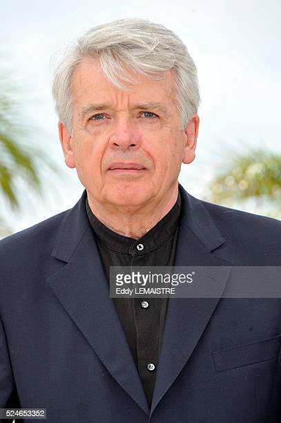 Alain Cavalier at the photo call for 'Pater' during the 64th Cannes International Film Festival