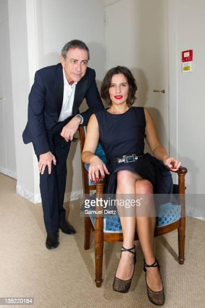 Alain Chamford and Zoe Felix attend 'ElleSonParis' Album Launch at Ministere de la Culture on December 7, 2011 in Paris, France.