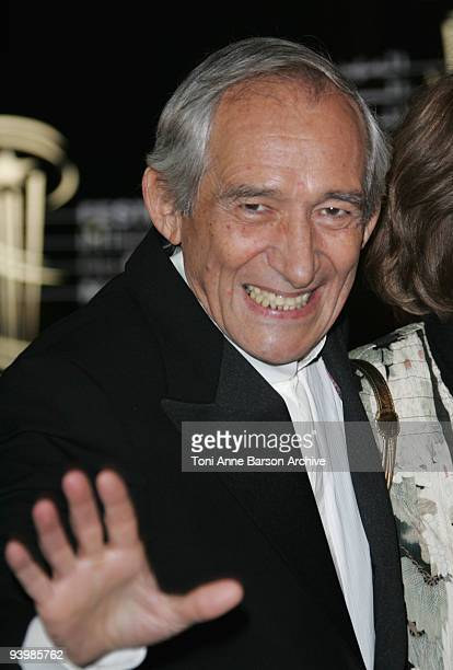 Alain Corneau attends the John Rabe premiere at the 9th Marrakesh Film Festival at the Palais des Congres on December 4 2009 in Marrakech Morocco