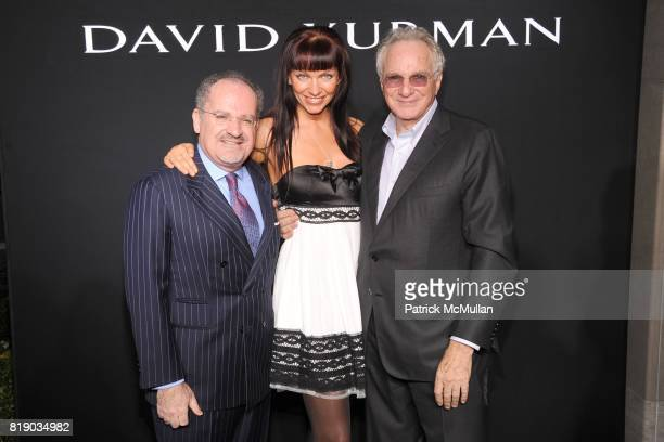 Alain Dabbah Elsa Storm and David Yurman attend DAVID YURMAN Townhouse Opening Celebration to benefit The Society of Memorial SloanKettering Cancer...