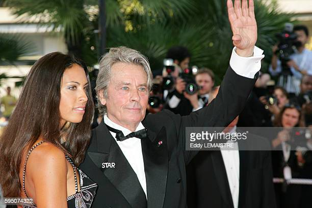 Alain Delon arrives at the premiere of 'Chacun Son Cinema' during the 60th Cannes Film Festival