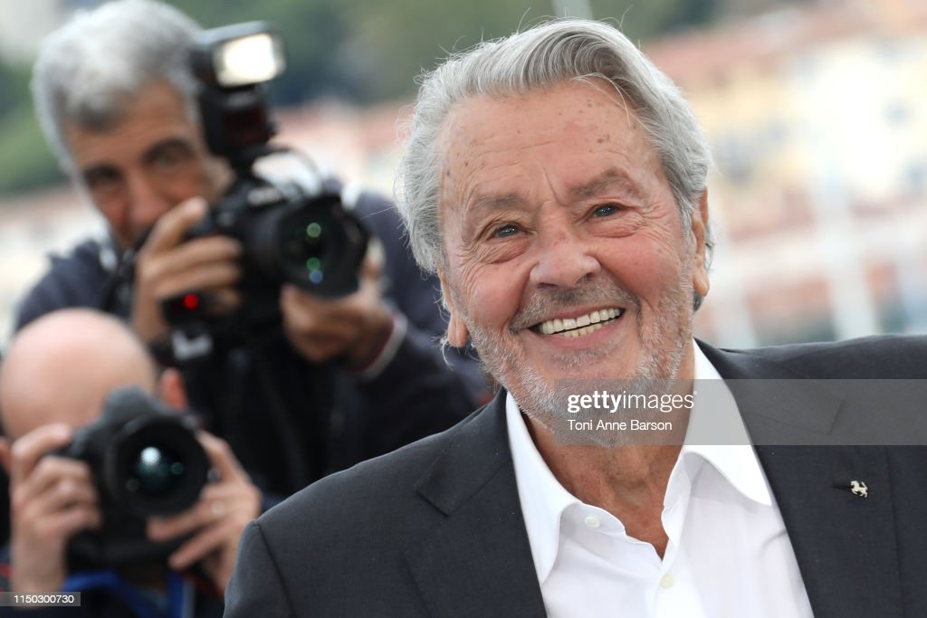 FRA: Rendez-Vous with Alain Delon Photocall - The 72nd Annual Cannes Film Festival