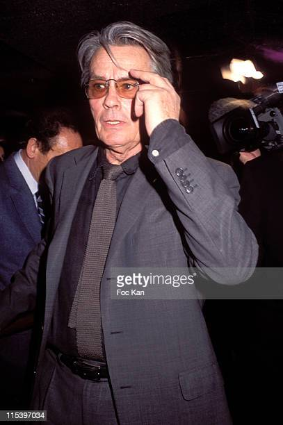 Alain Delon during Publicis Drugstore Opening at Publicis Store Champs Elysees in Paris France