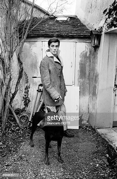 Alain Delon In France In November 1965