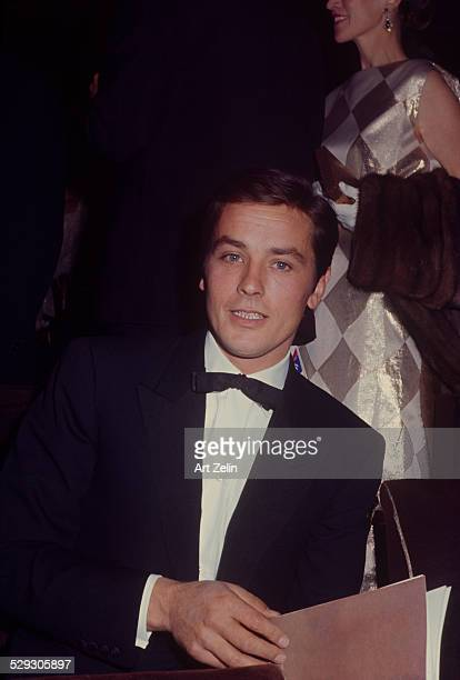 Alain Delon in Paris; circa 1970; New York.