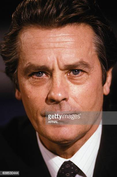 Alain Delon à Paris France le 23 octobre 1988
