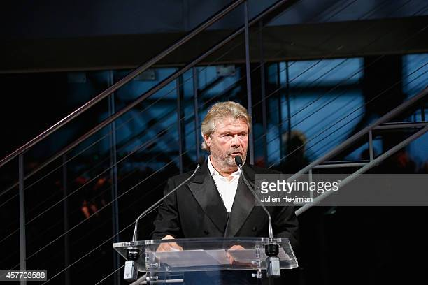 Alain Dominique Perrin attends the 'Fondation Cartier Pour L'Art Contemporain' 30th Anniversary at Fondation Cartier on October 20 2014 in Paris...